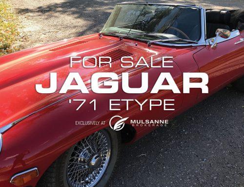 71 Jaguar E Type